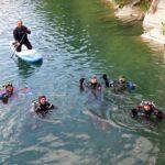 potápění a paddleboard