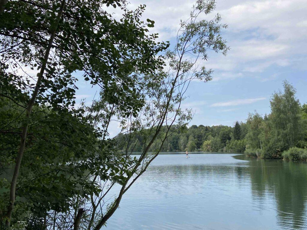 stribrne jezero sadrak paddleboard 3