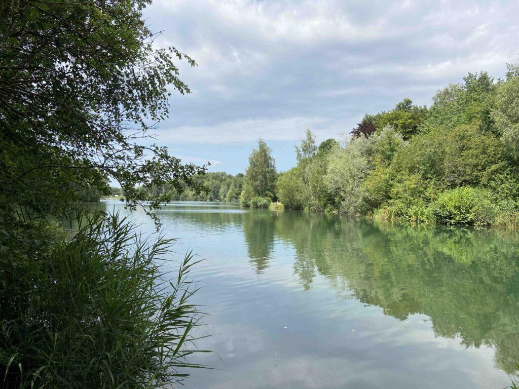 stribrne jezero sadrak paddleboard ostrava