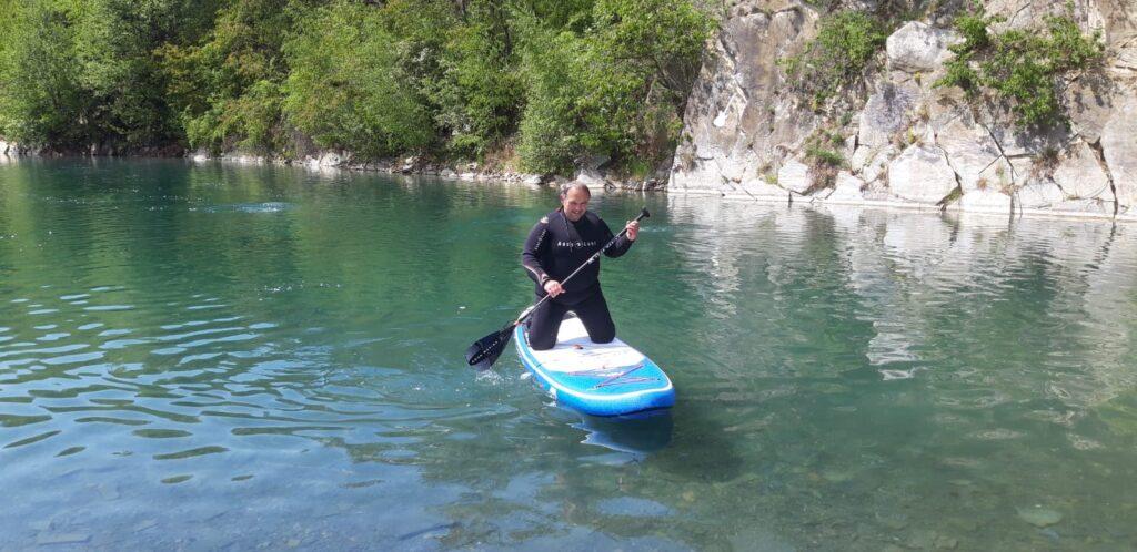 svobodné heřmanice paddleboard cool divers