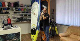 pujčovna paddleboardů ostrava půjčovna