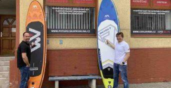 pujčovna paddleboardů ostrava prodej
