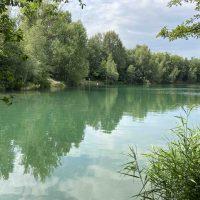 stribrne jezero sadrak paddleboard
